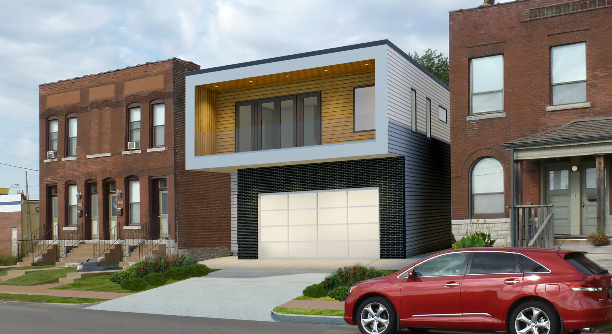 Contemporary Single-Family Home Planned for Sarah in The Grove