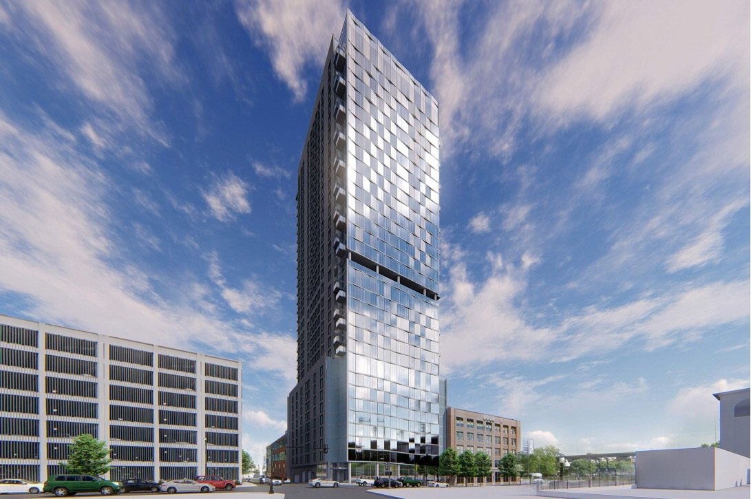 Second New Residential Tower Proposed Overlooking Busch Stadium