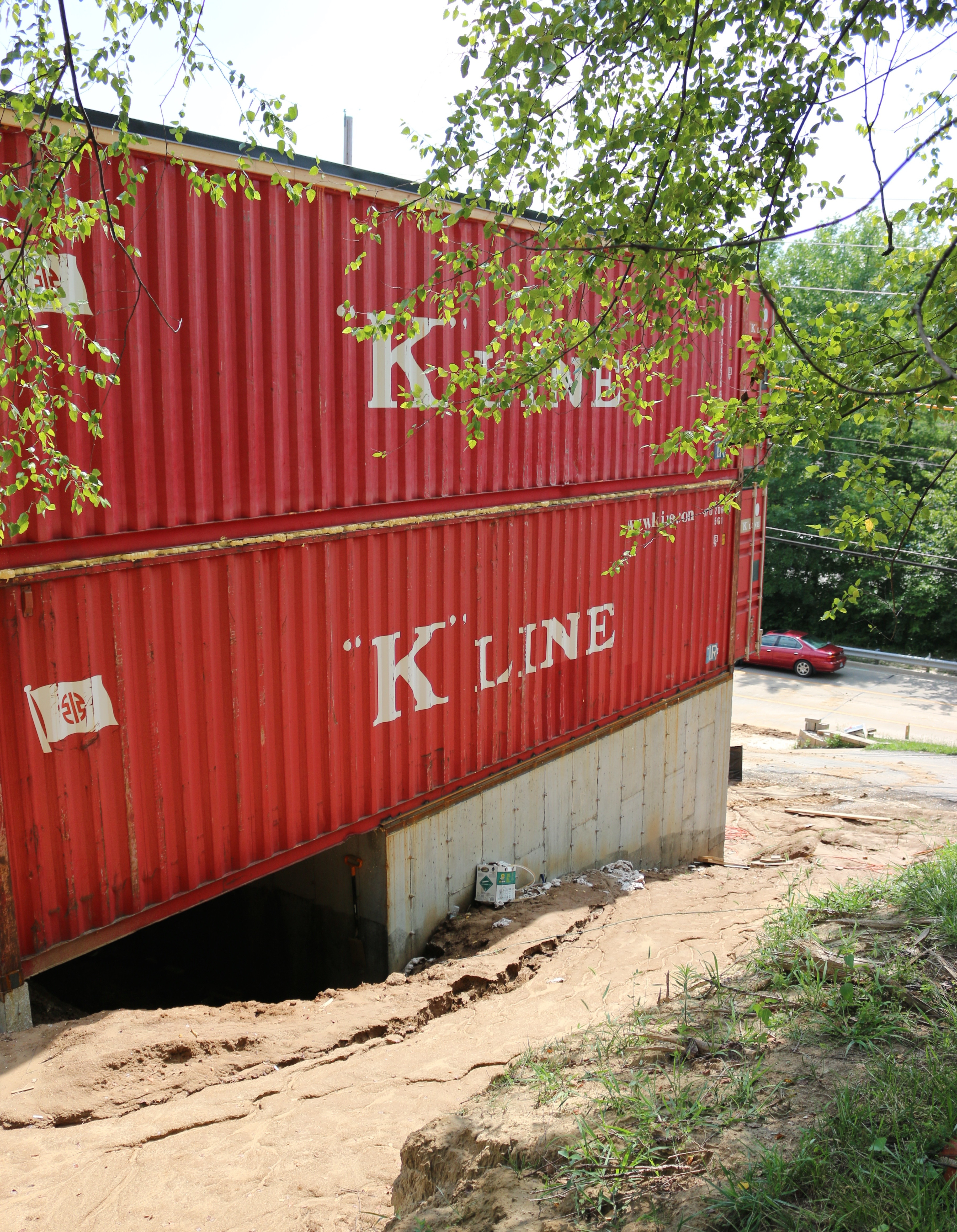 Cargo Box Homes Shipping Container Home Making Waves In St Charles Nextstl