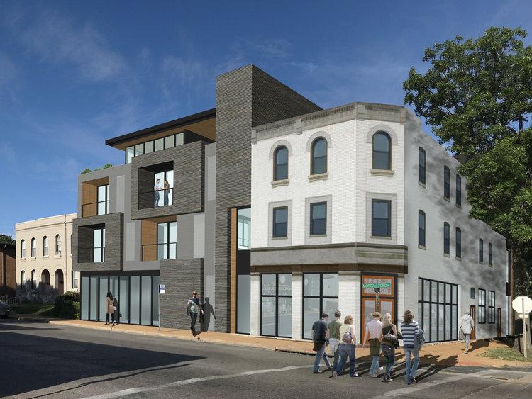 $3.7 Million Development on Morganford Blends Old & New