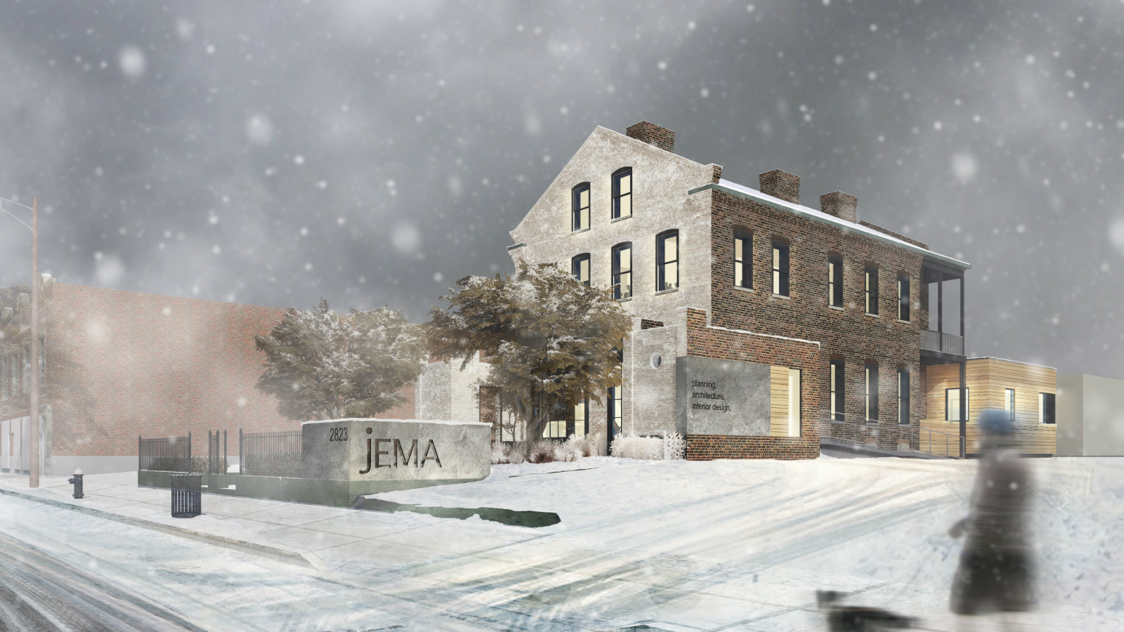 """Olive Street's """"Last House"""" Gets New Life as JEMA HQ"""