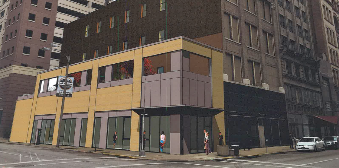 Plans Call for Demo and Replacement of 923 Locust, Renovation of Historic Row