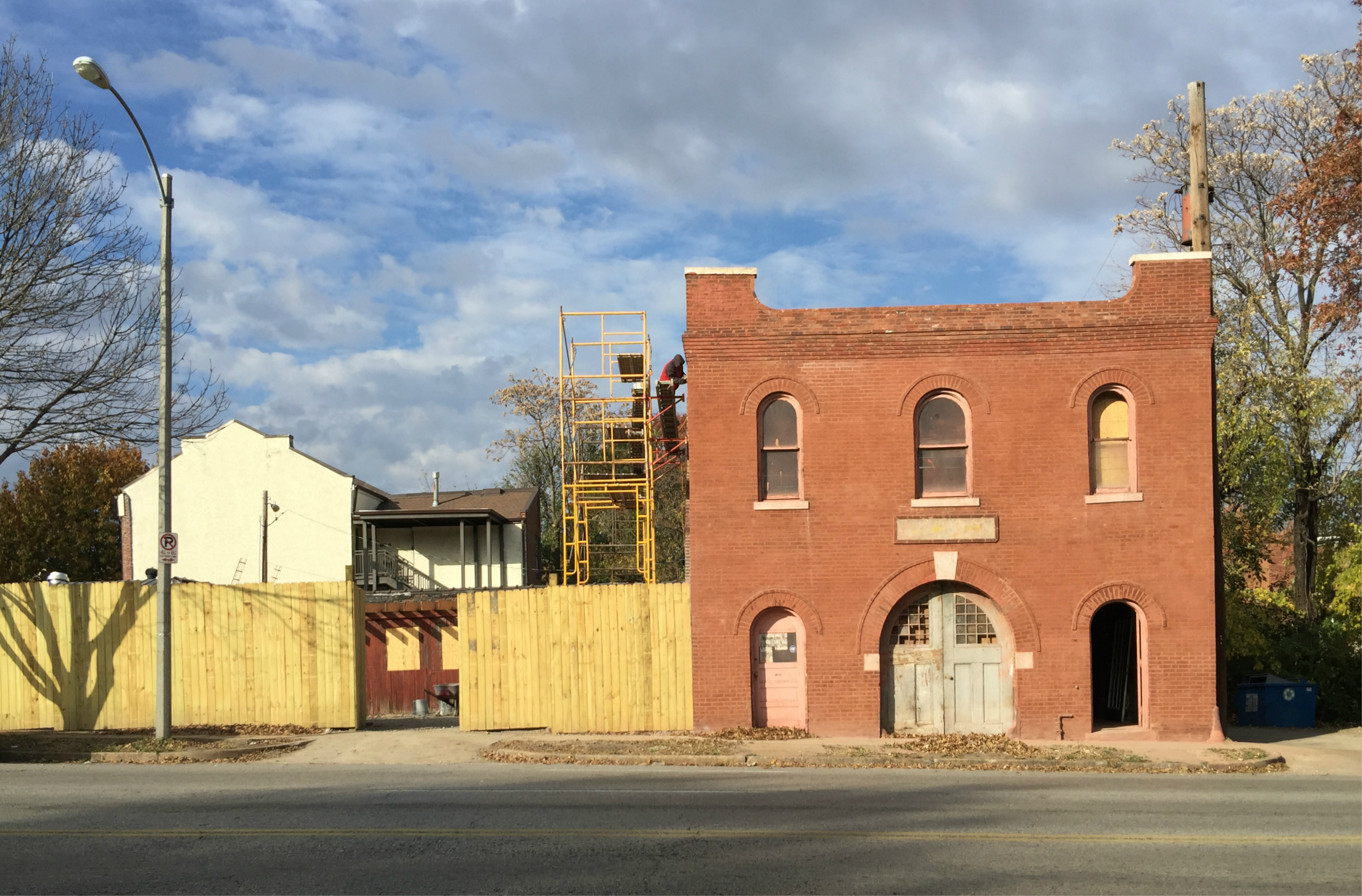 MLK Construction Renovating Vacant Building for New HQ in Gate District