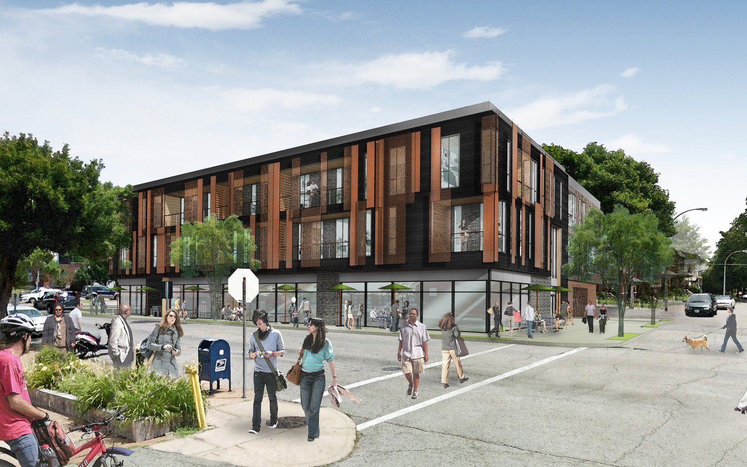 Morgan Ford in TGS May See Three-Story, 26-Unit Mixed-Used Project