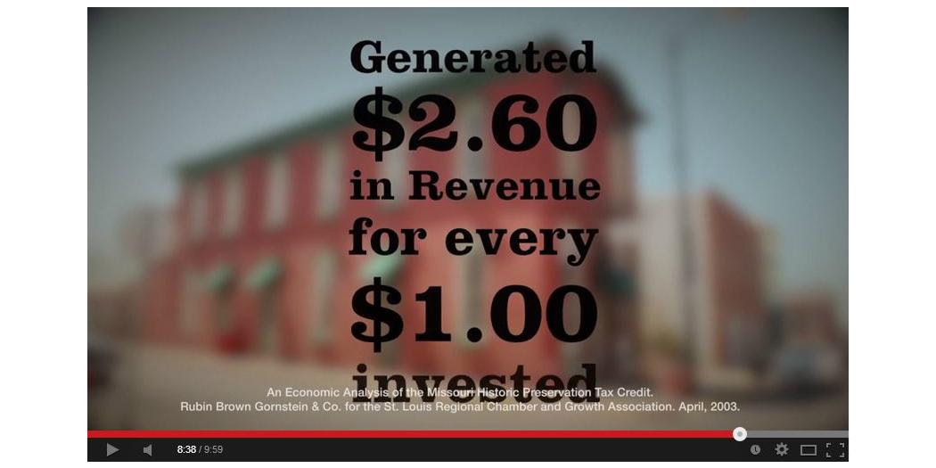 Video: The Benefits of the Missouri Historic Rehabilitation Tax Credit