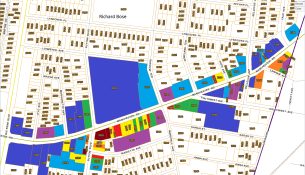 Maplewood Parcel Map with Colors (1)