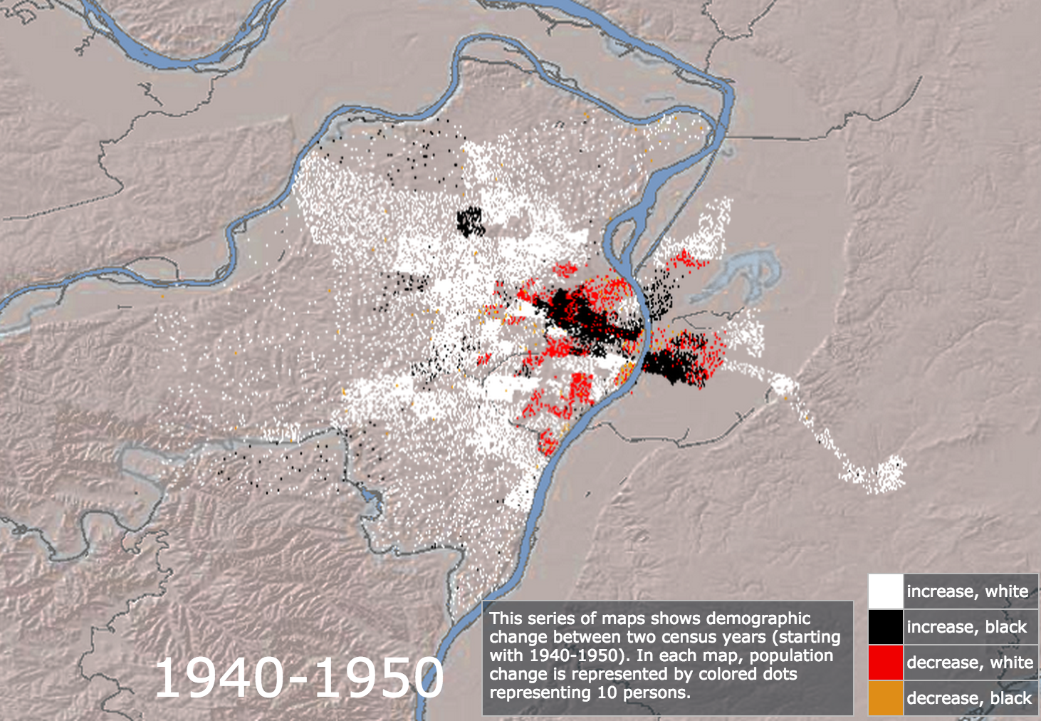 Mapping Decline 1940-1950