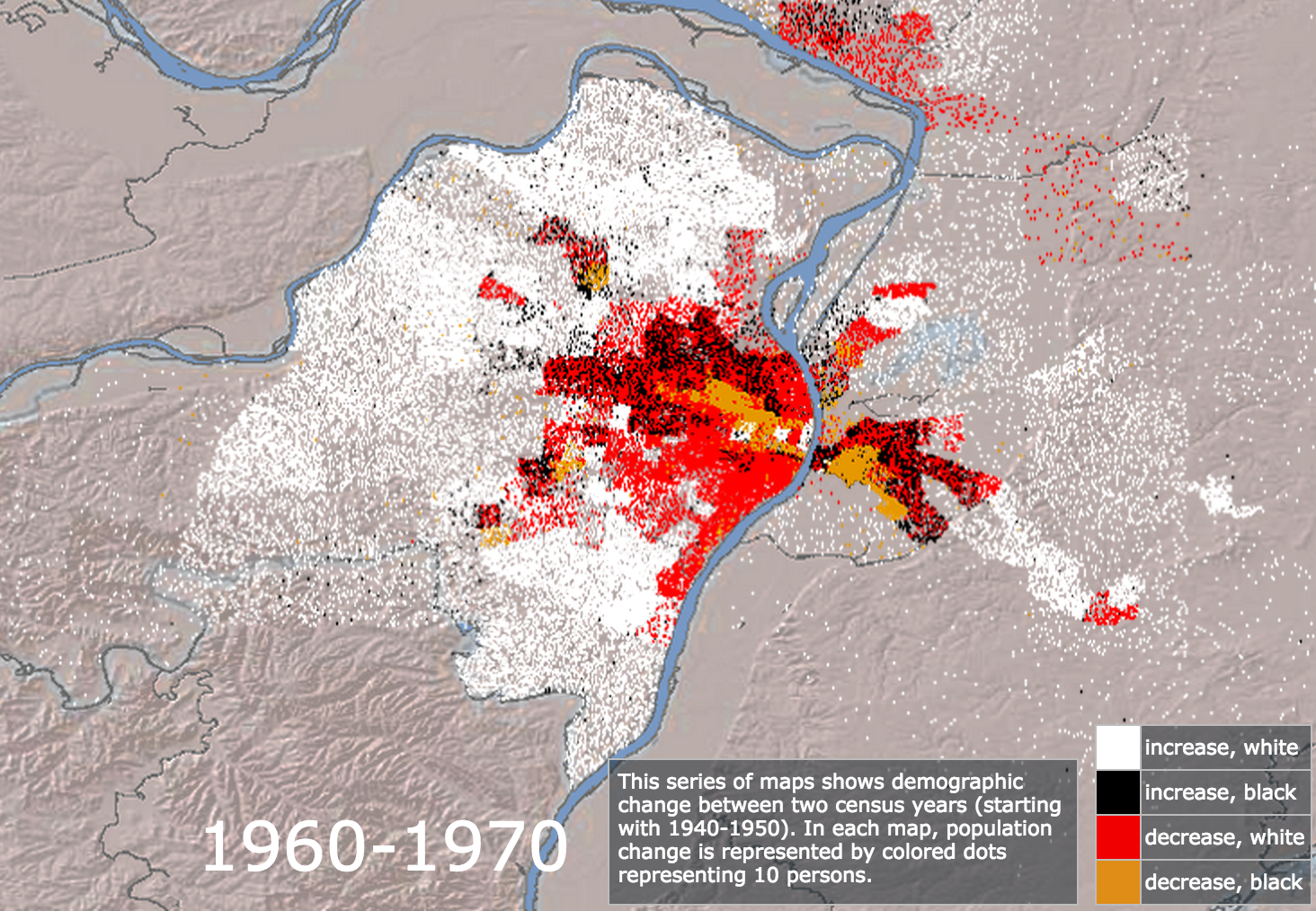 Mapping Decline 1960-1970