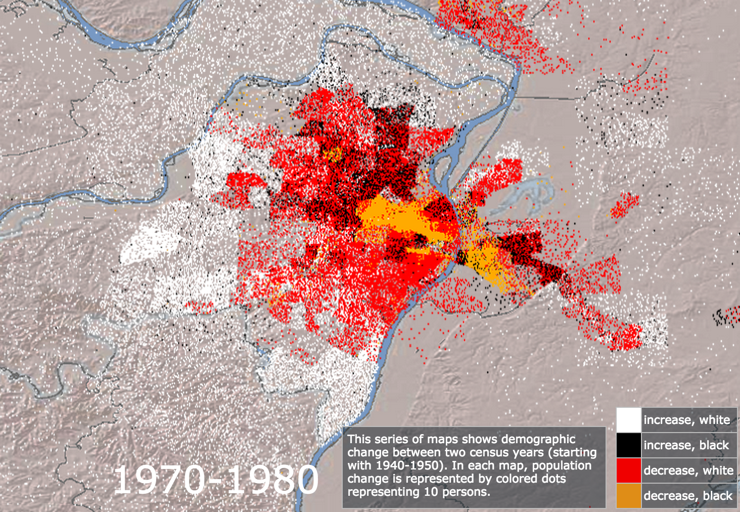 Mapping Decline 1970-1980