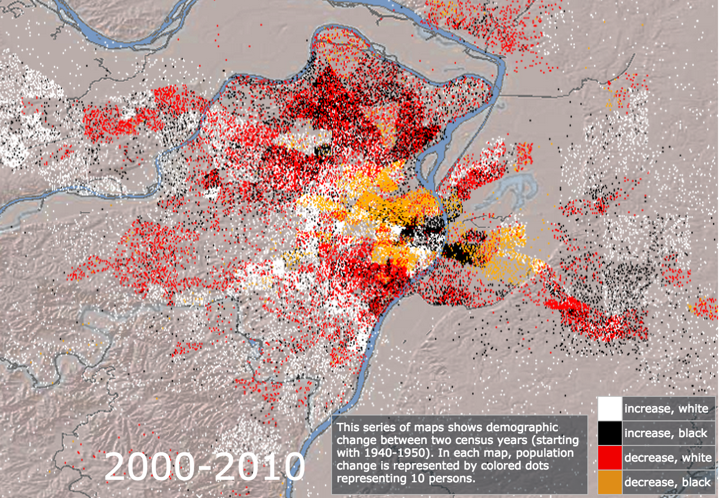 Mapping Decline 2000-2010