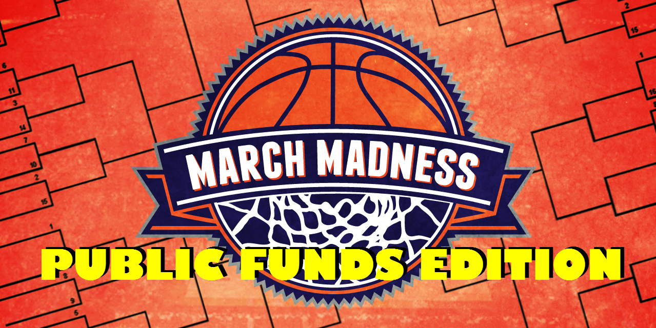Public Funds March Madness Bracket