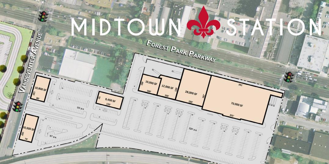 Pace Tweaks Midtown Station Retail Plan Across from IKEA