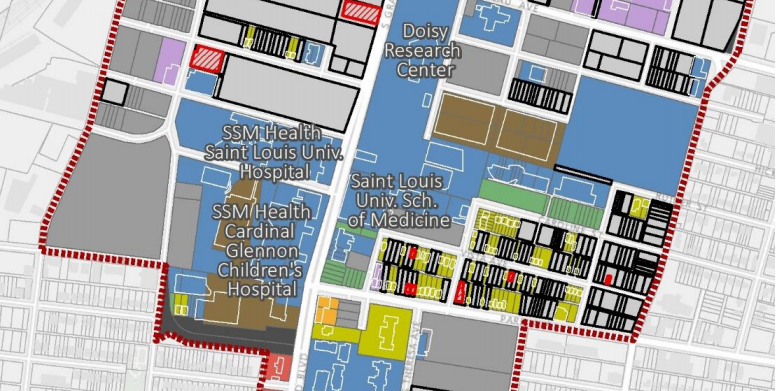 SLU's 395-Acre Redevelopment Plan: Pevely Goes, Desloge Stays, Much More Coming