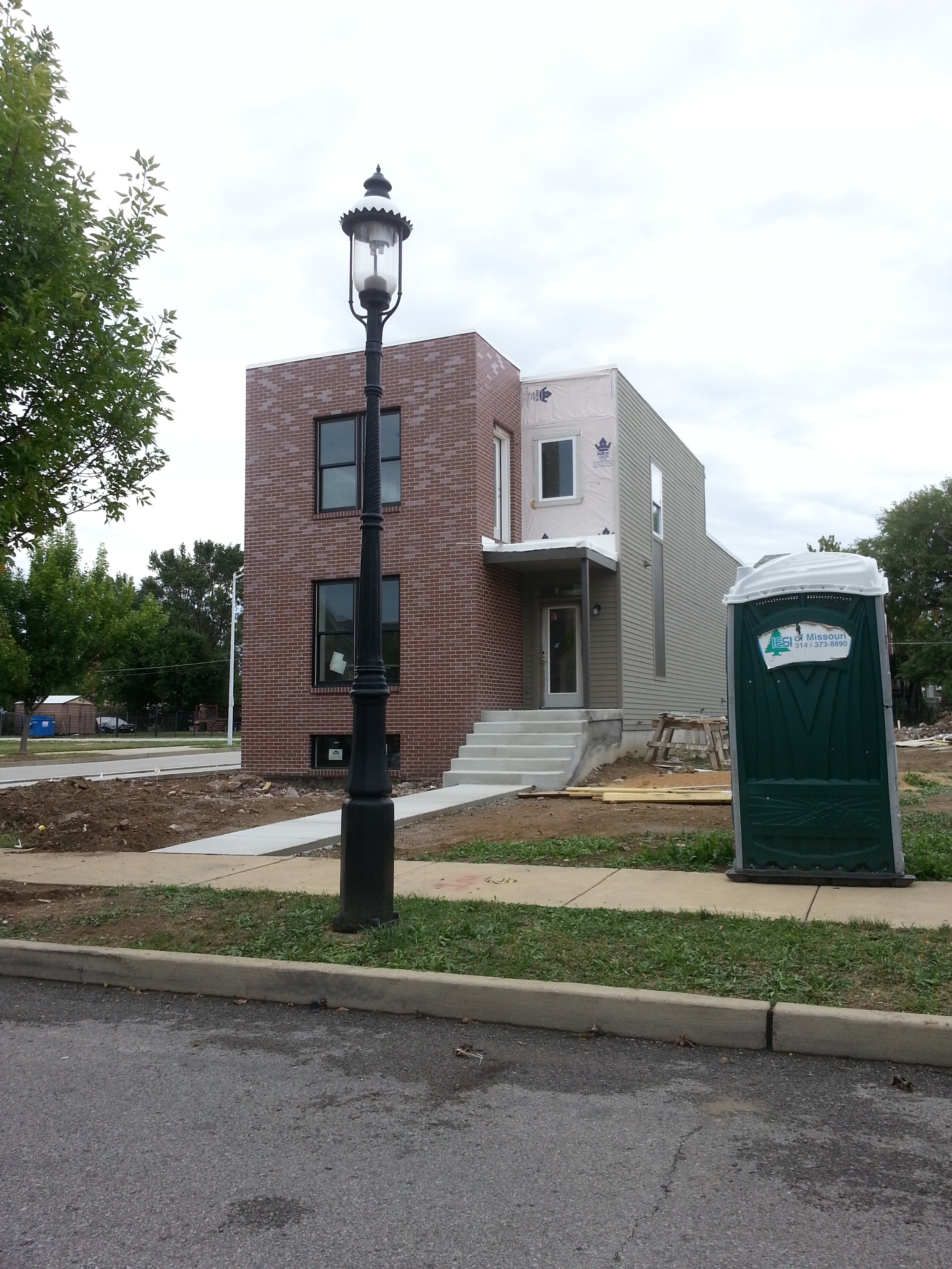 Two New Homes Coming to Gaslight Square (4161 and 4163 Olive)