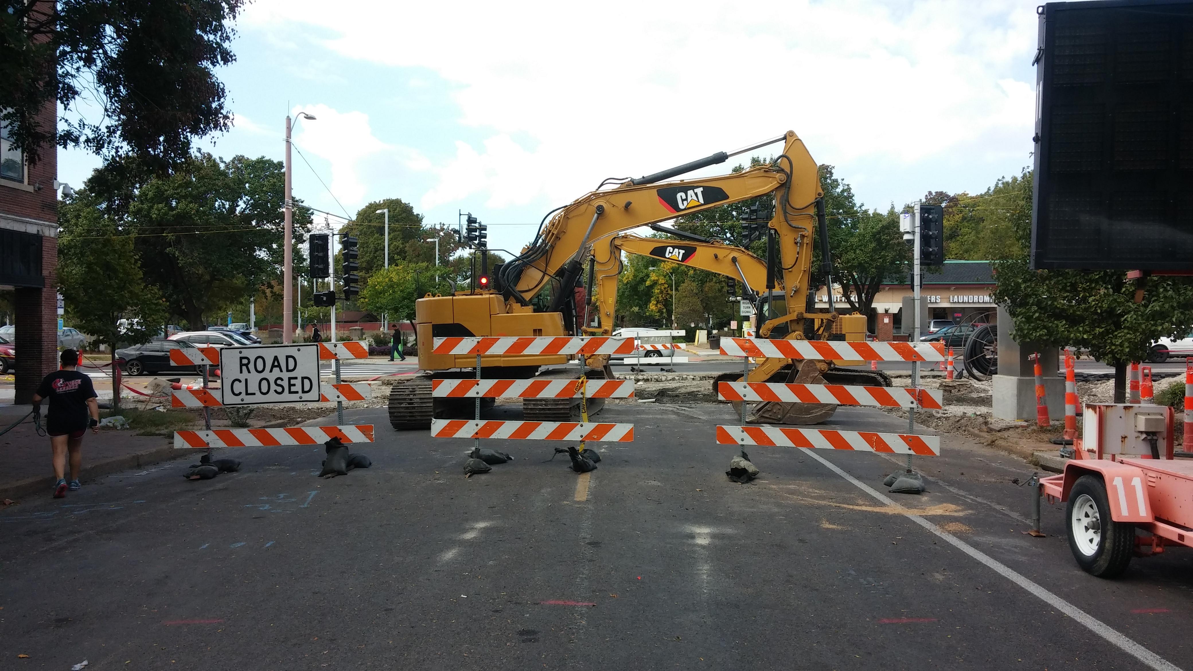 What Should Be: Open Waterman Boulevard at DeBaliviere Avenue