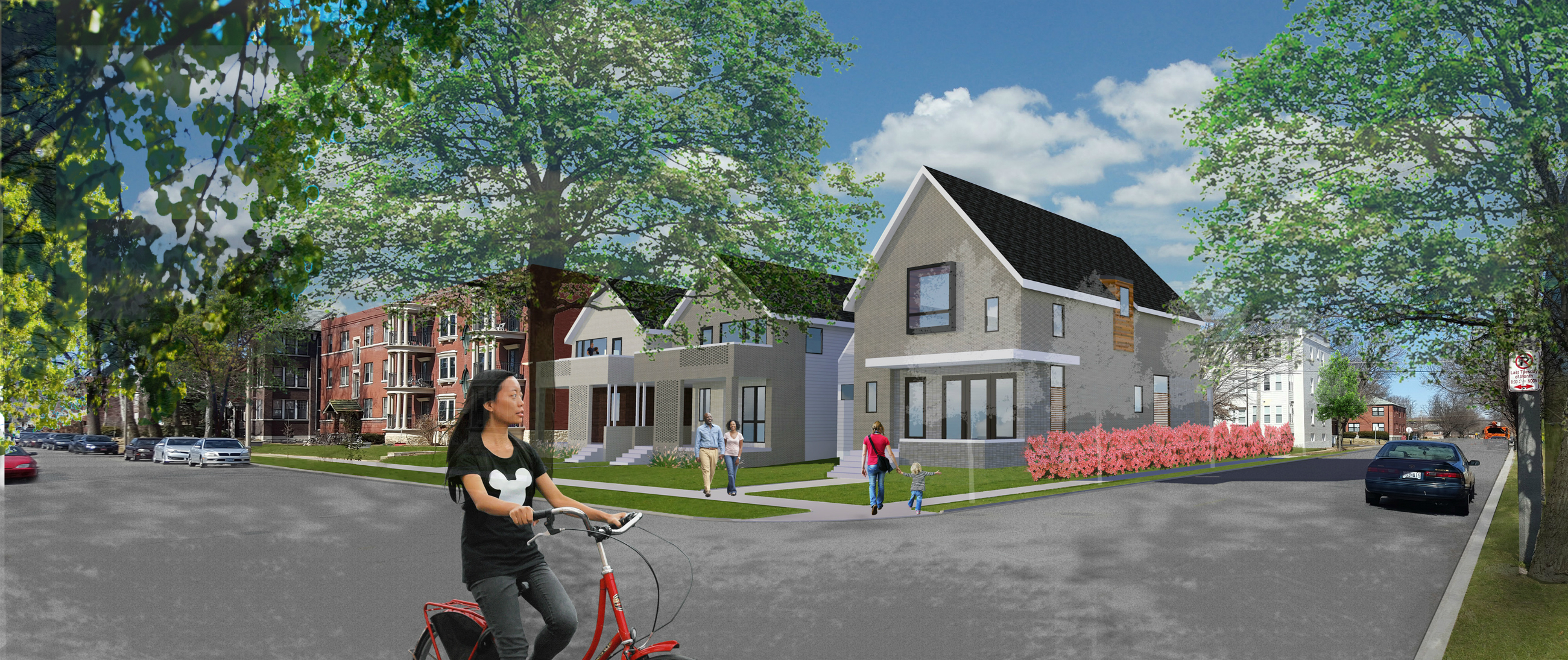 UIC Proposes Three Infill Homes in City's Skinker-DeBaliviere Neighborhood