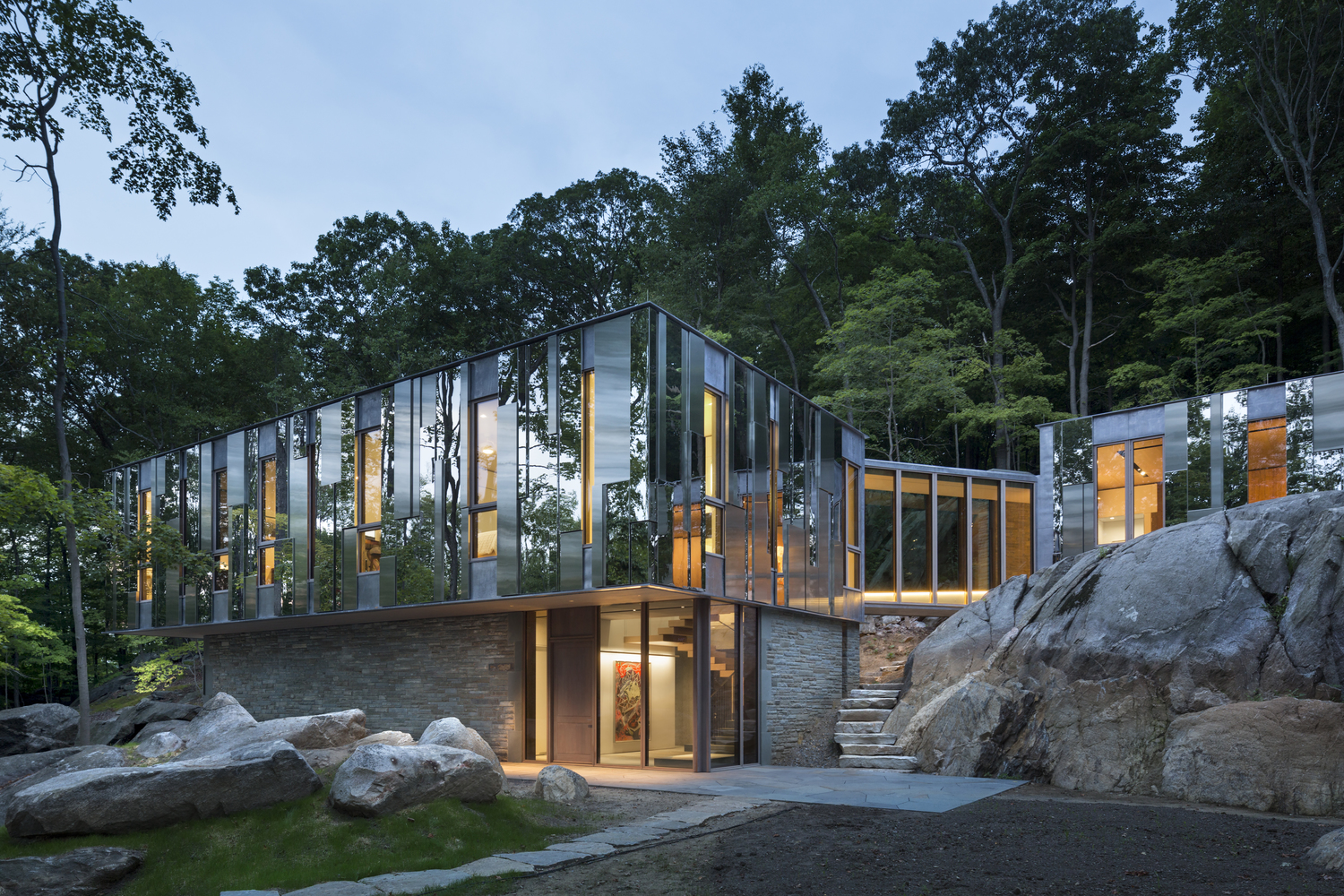 Kagan House, Location: Pound Ridge NY, Architect: Kieran Timberlake Architects