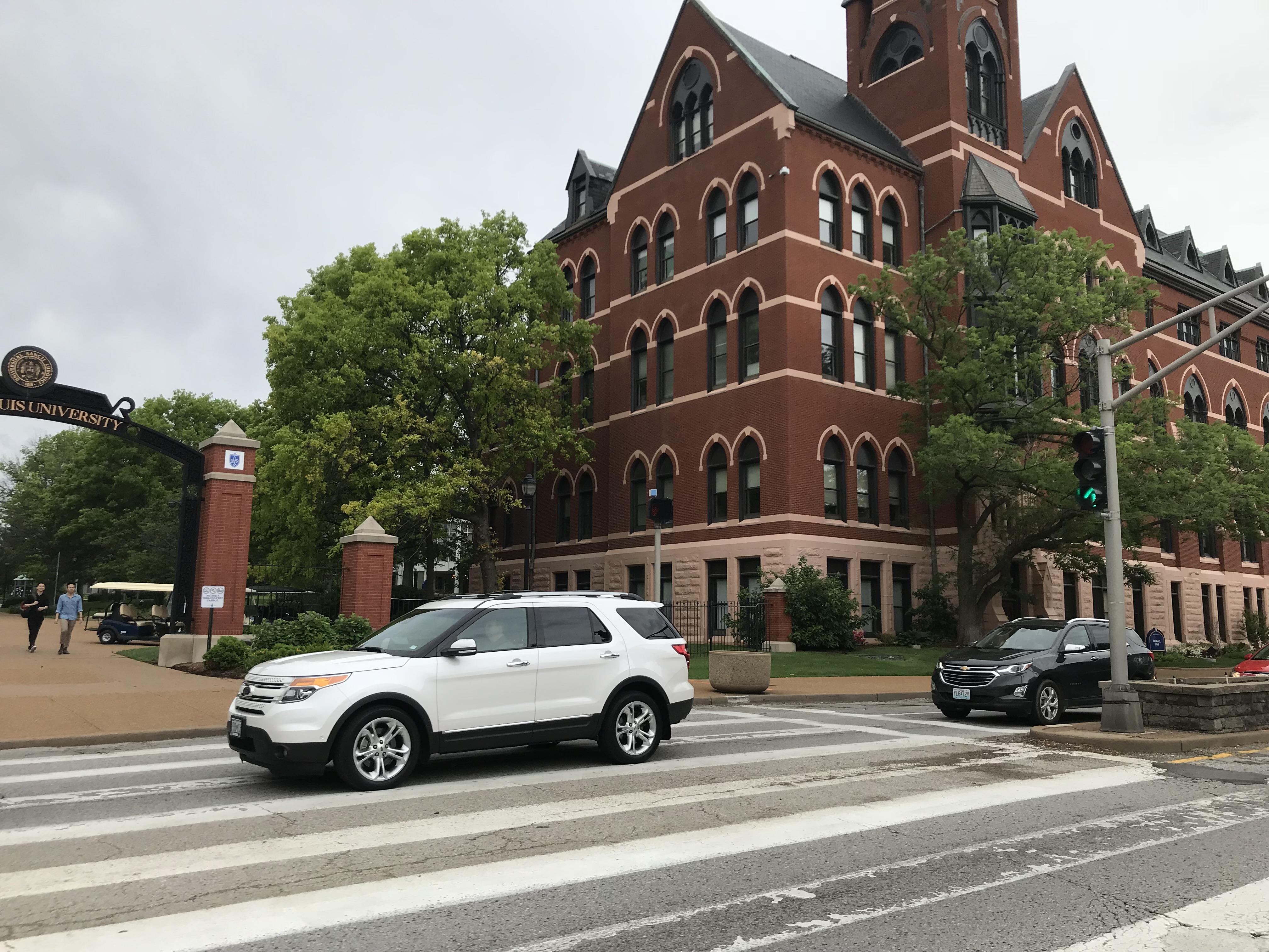 SLU to begin Grand crosswalk improvements and road diet