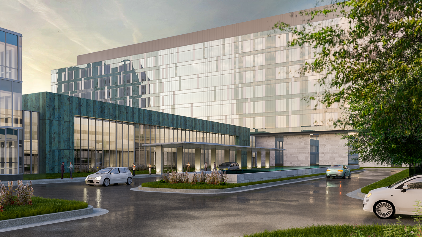 New Renderings Unveiled for $550M SSM/SLU Hospital Project