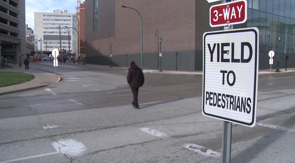 Taylor Avenue pedestrian crossing