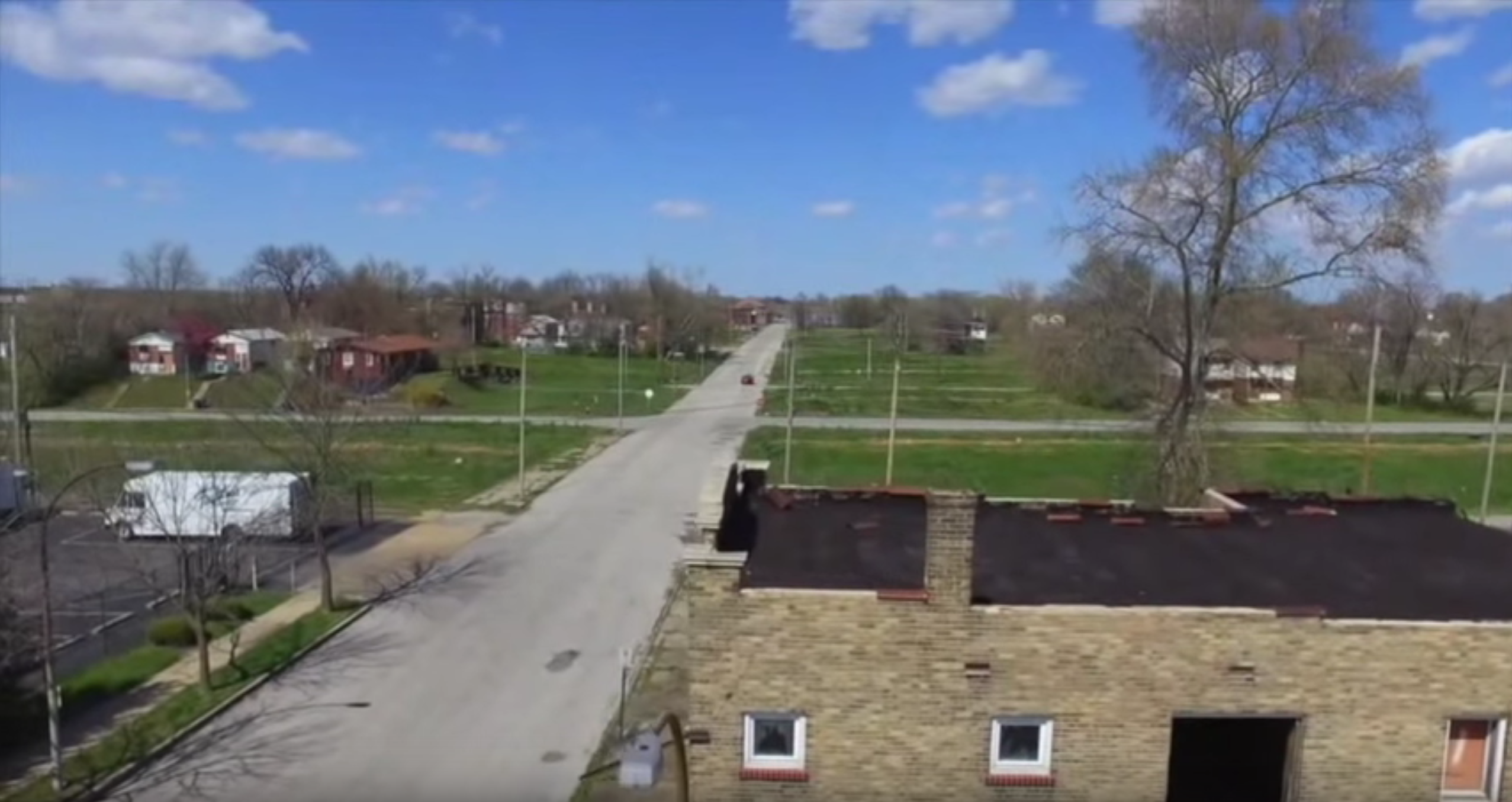 Drone Footage Shows Future NGA Site in North St. Louis City