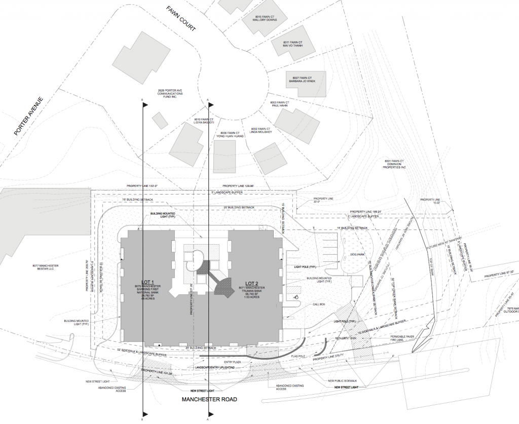 Metro on Manchester site plan