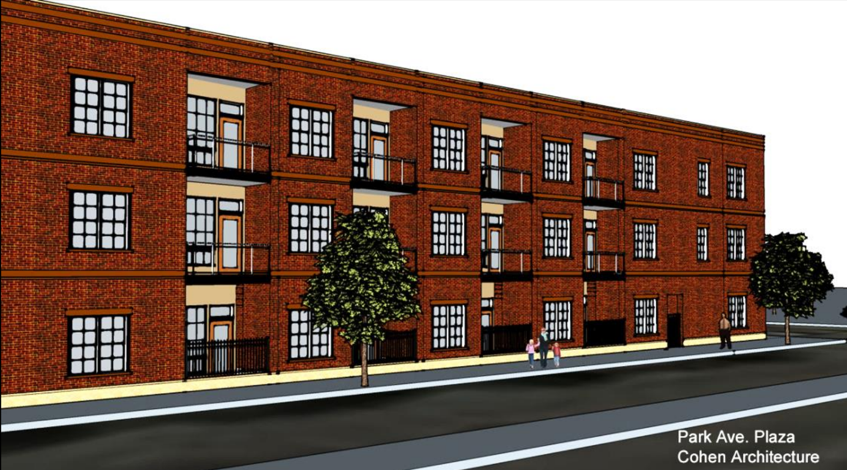 Screen Shot 2017 10 21 At 2 A Proposal For Three Story Apartment Building