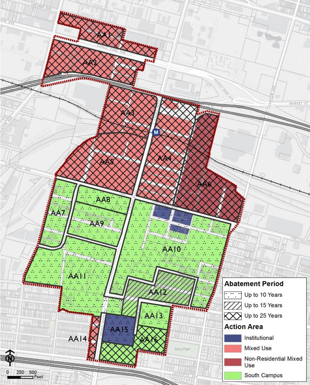 Midtown 353 Redevelopment Plan_abatement period