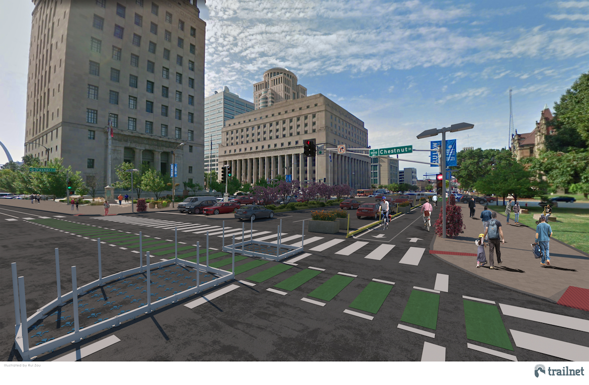Trailnet Announces Study Corridors for Bike/Ped Network: Connecting St. Louis