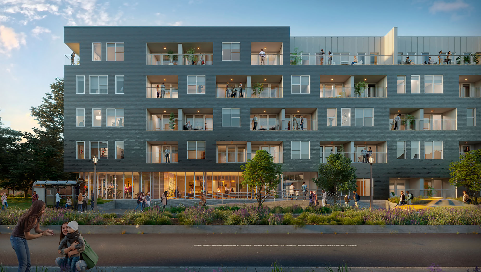Compton Hill Apartments Moving Forward