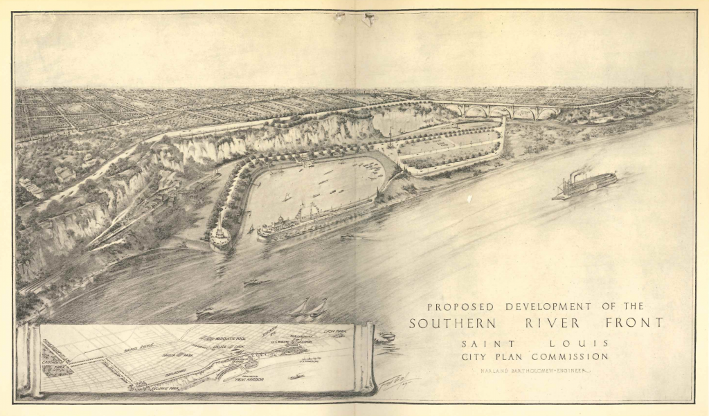 South Riverfront STL 1929