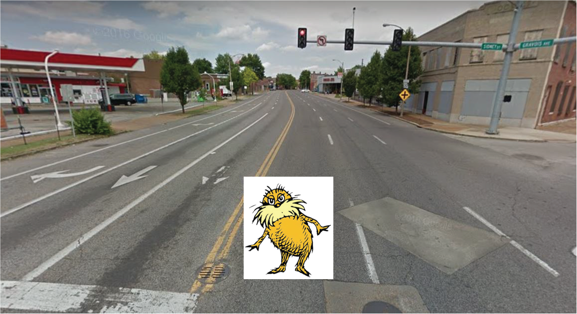 The Gravois. (An Ode to a St. Louis Stroad)