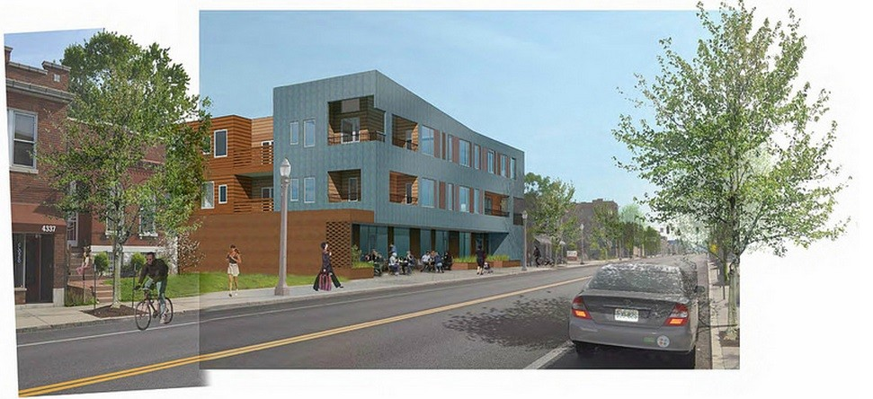 Building Permit Issued for New UIC Mixed Use Building in the Grove (4321 Manchester)