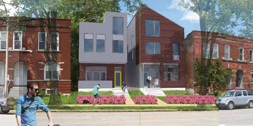 UIC Offers Infill on Gibson in The Grove