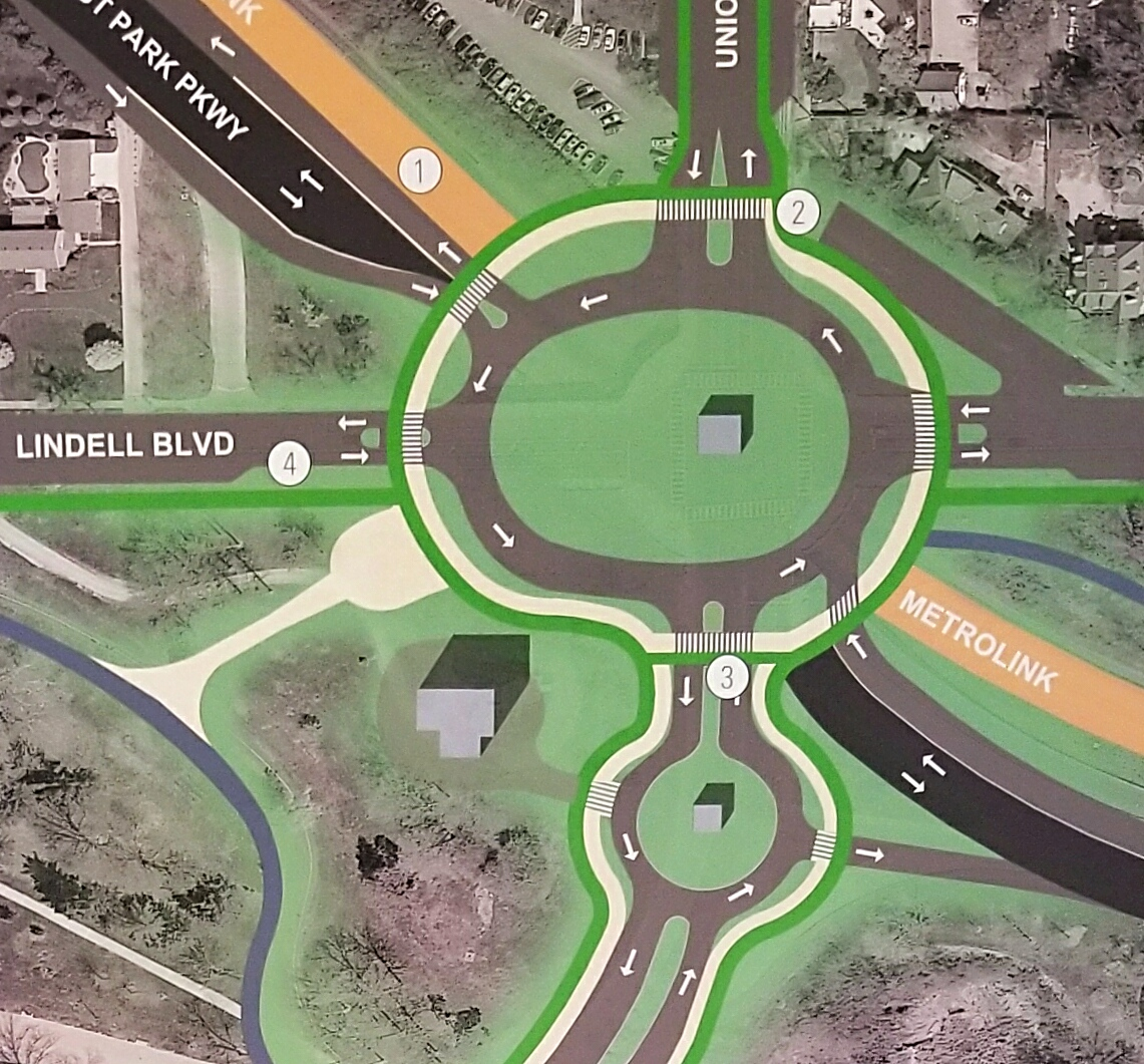 Study Suggests Steps to Humanize Lindell Blvd