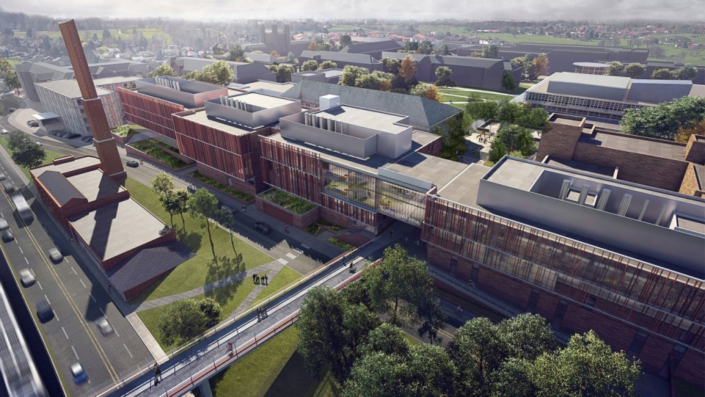 Wustl Plans 35m Remake Of Danforth Campus North Entrance Nextstl