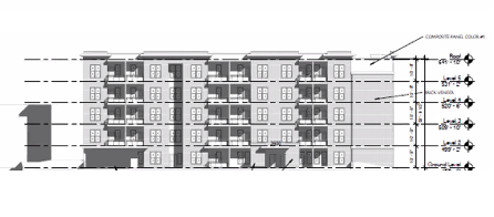 60 Apartments Planned At Waterman and Clara