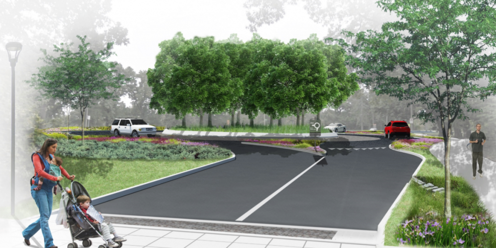 Bike, Ped, Road Enhancements Coming to Wells and Government Drives in Forest Park