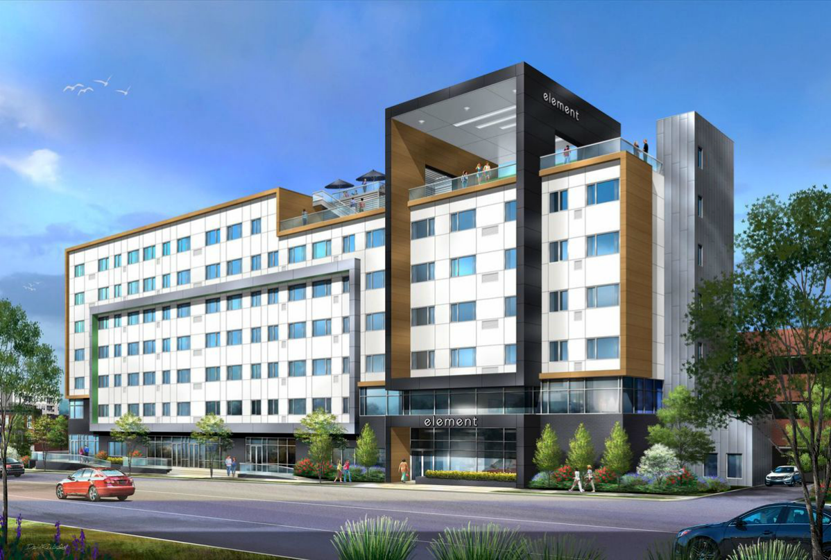 Westin Hotel, Retail Planned for Habitat for Humanity Site on FP Avenue