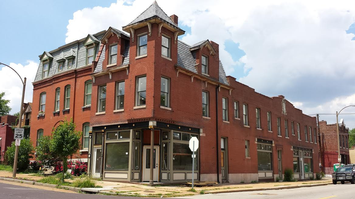 Benton Park West Corner Building's Transformation Nearly Complete (2801 Wyoming)