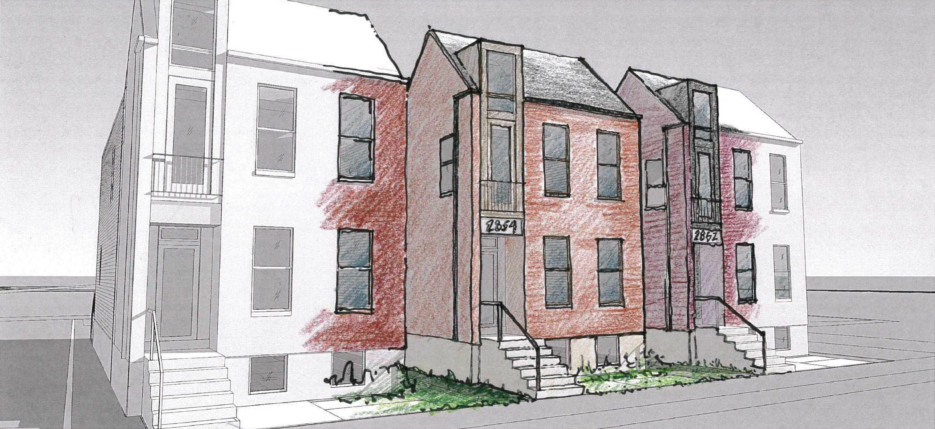 Benton Park Historic District Infill by UIC Gets Go Ahead