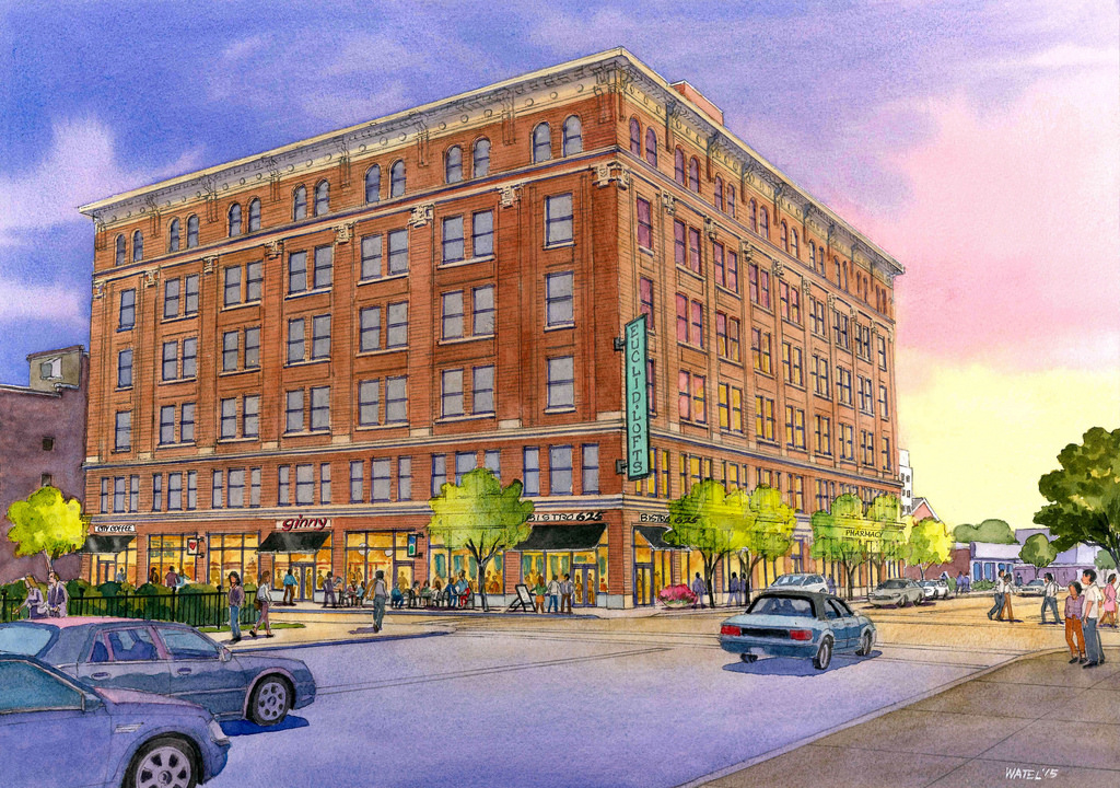 Central West End's Euclid Plaza Set for Mixed Use Residential