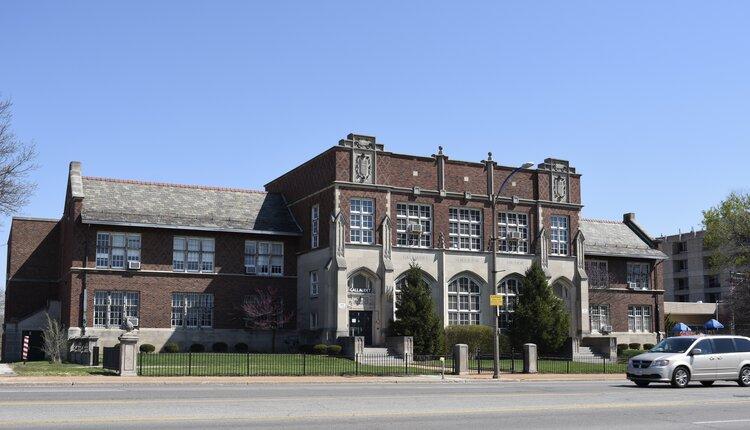 Gaulladet School for the Deaf - 1616 S. Grand Boulevard