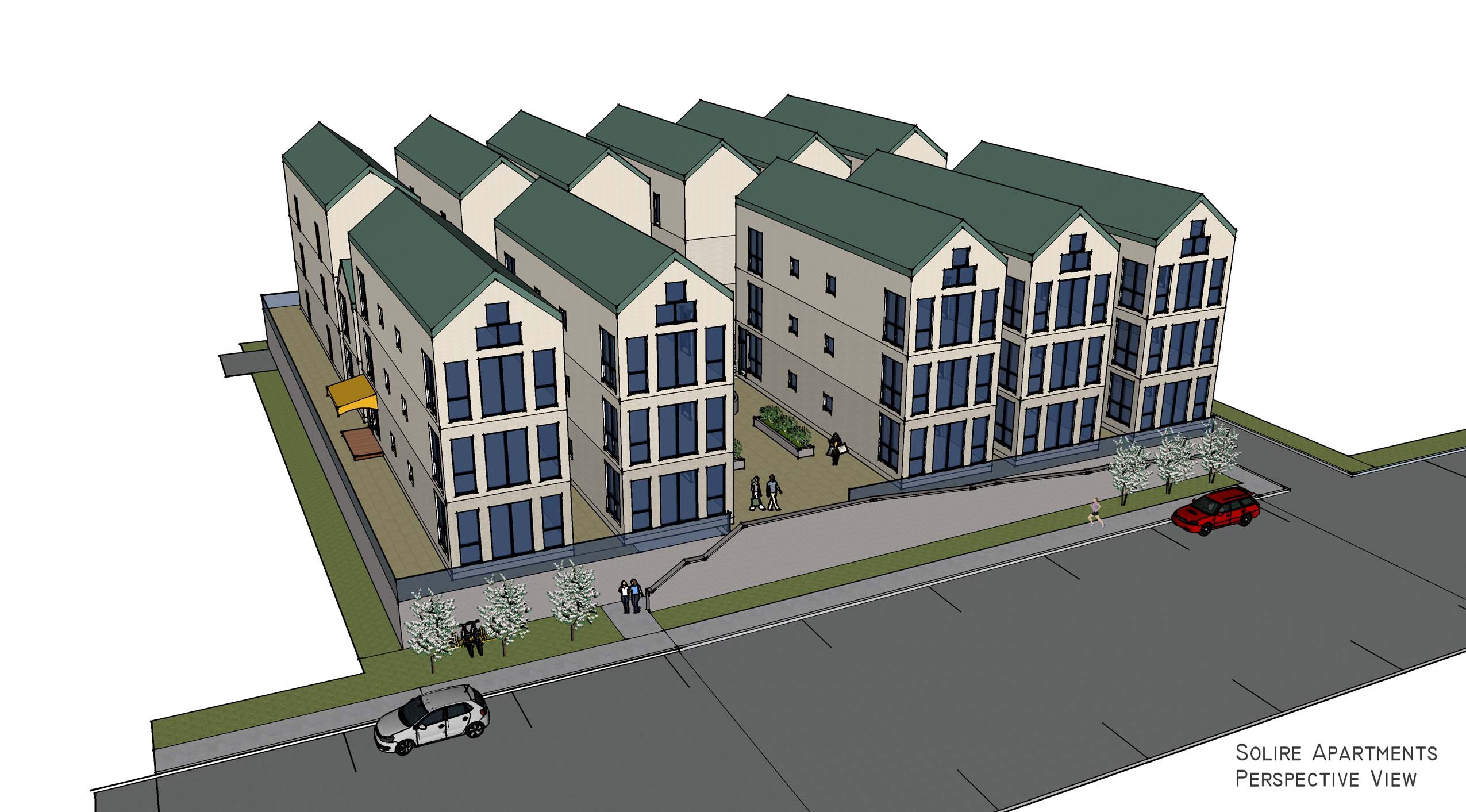 """Solire """"Millennial"""" Micro Apartments Planned for Downtown Clayton"""