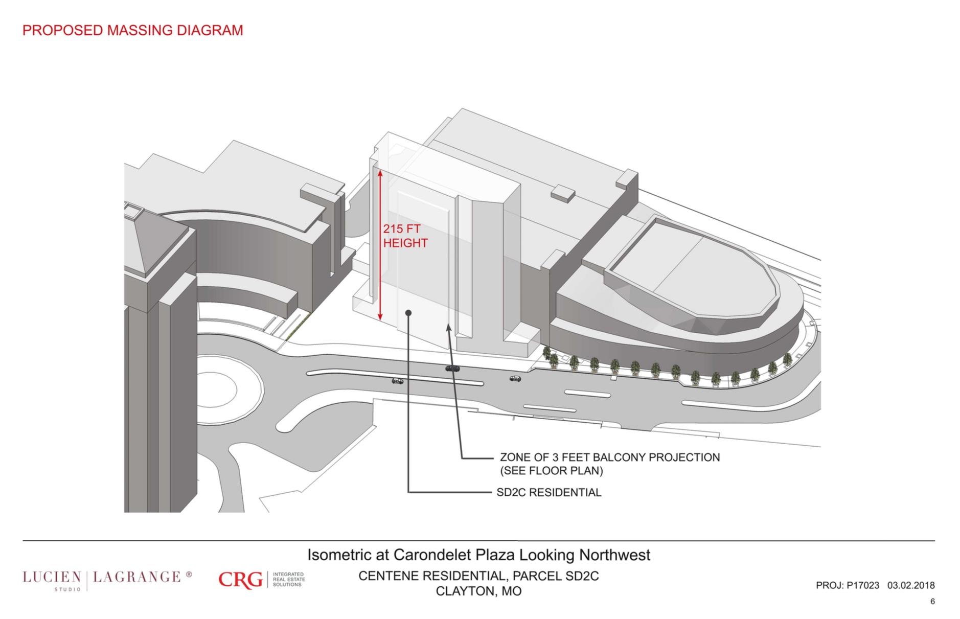 Will Centene's phase 2 residential tower be getting taller?