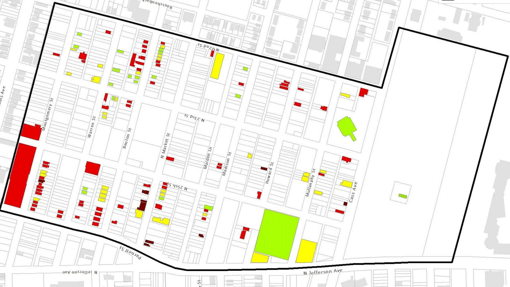 How to Blight 100 Acres of St. Louis City
