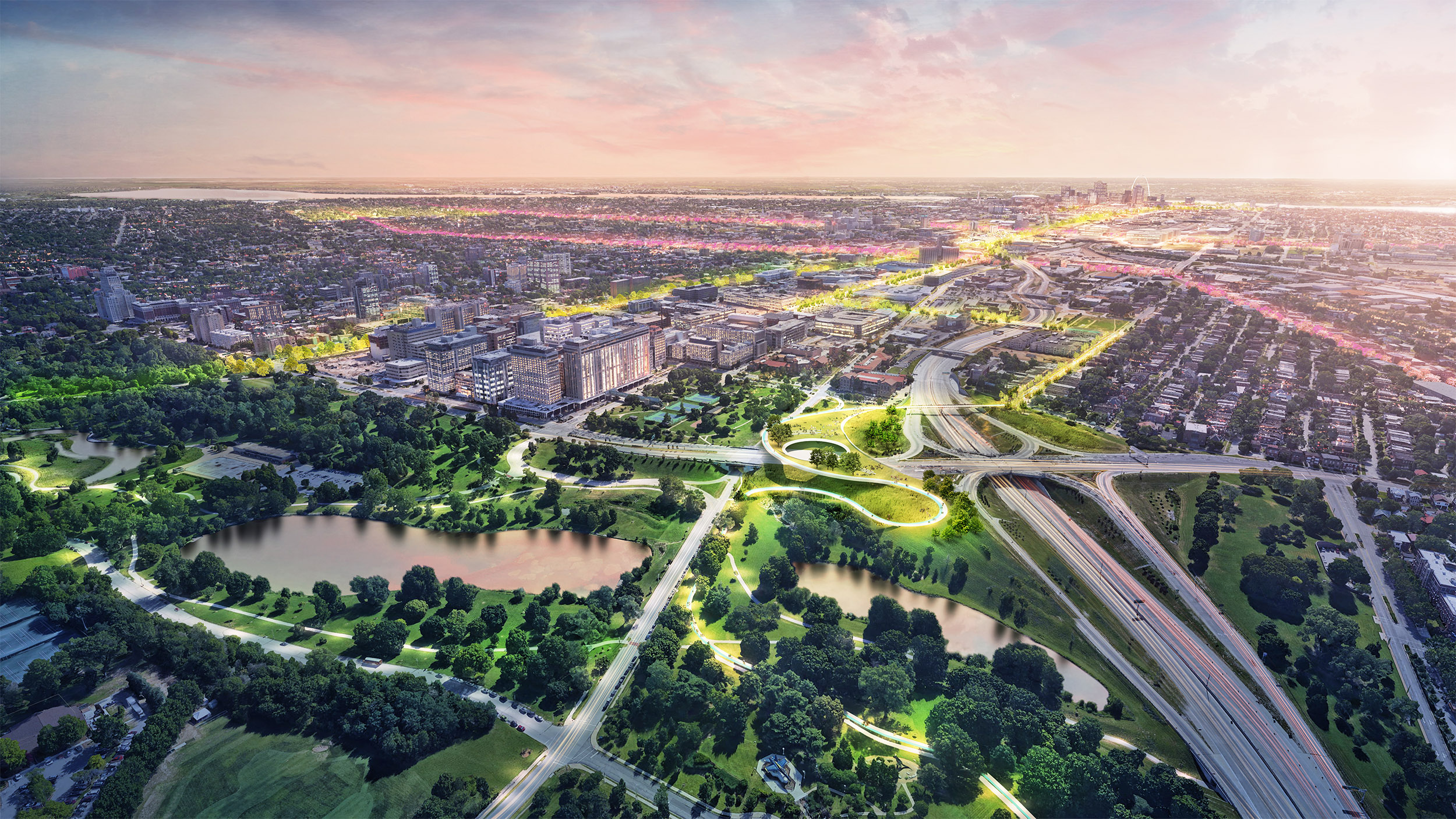 Chouteau Greenway Proposals Released for Public Input