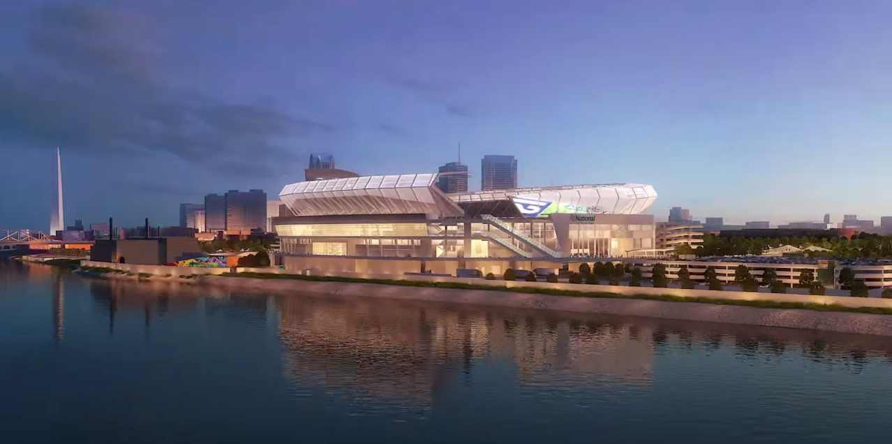 New National Car Rental Field in St. Louis Fly-Through Video Released
